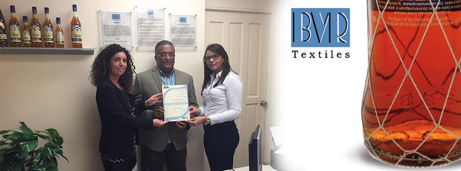 Textiles BVR obtiene la certificación ISO 9001 de mano de EQA