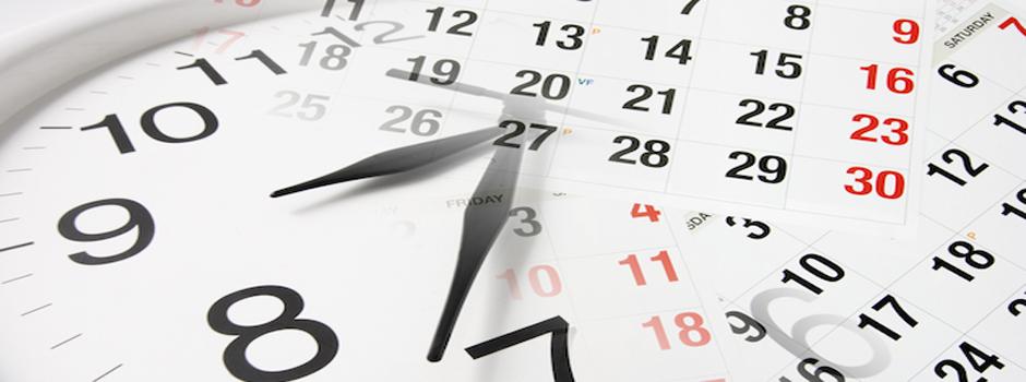 Calendario de capacitación en Calidad