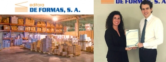 EQA entrega el certificado de ISO 9001 a la empresa Editora de Formas
