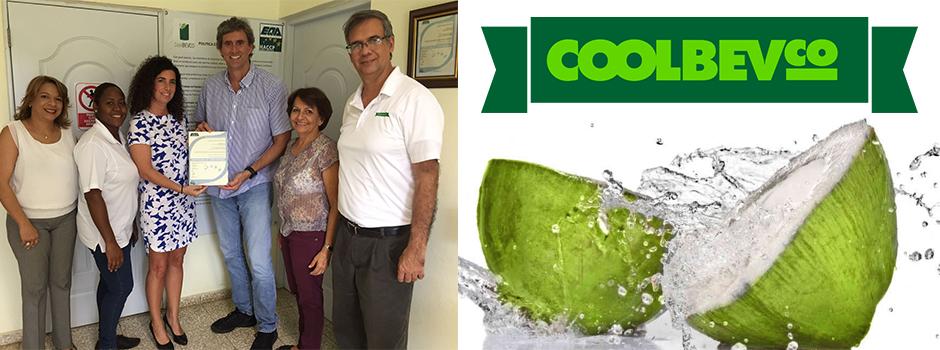 Entrega Recertificación de Coolbevco el certificado de HACCP