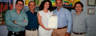 EQA entrega la certificación en Buenas Prácticas de Manufactura a la empresa La Fabril