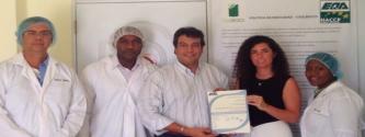 COOLVEBCO obtiene la certificación HACCP de manos de EQA
