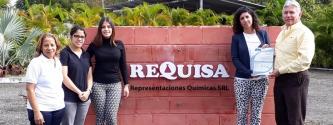 EQA entrega la renovación en Buenas Prácticas de Manufactura a la empresa Requisa