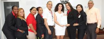 EQA entrega los certificados en ISO 9001:2008 a la empresa Almonte y Asociados