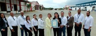 EQA entrega la renovación ISO 9001:2015 a la empresa Alfridomsa